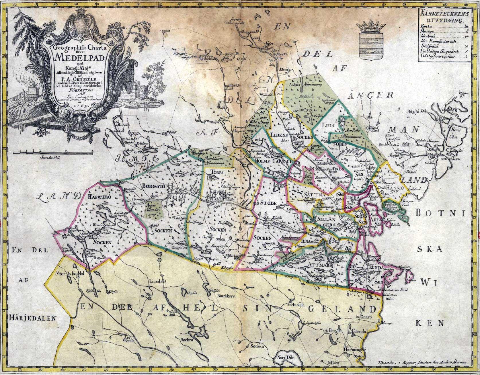 medelpad karta Ny sida 1 medelpad karta